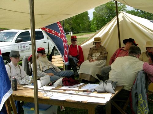 Confederate Re enactors