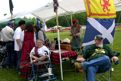 Society Tent with Mrs Dorothy Peters